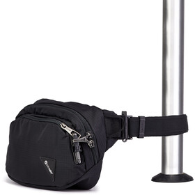 Pacsafe Vibe 100 Hip Pack jet black